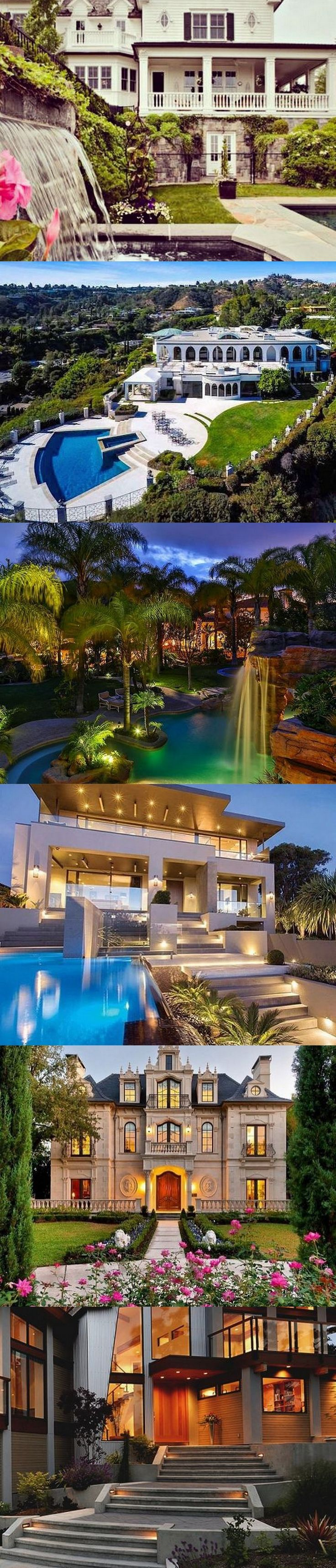 2034 best mega mansions images on pinterest architecture for Dream house builders