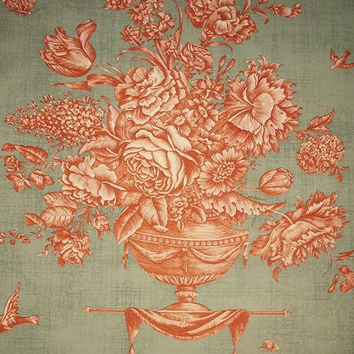 Pierre Deux Wallpaper Pattern I Just Bought This For My Victorian French Country Kitchen