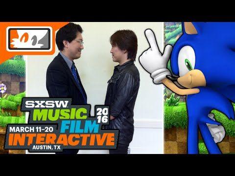 Yuji Naka, Takashi Iizuka, Mike Pollock, & More Attending SXSW 2016 History of Sonic Panel! - YouTube