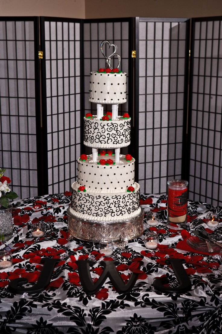 White Wedding Cake With Strawberry Filling Best Screen Images On
