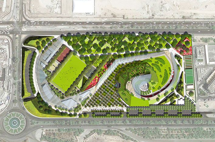 Martha Schwartz Partners - Projects - Parks - Airport Road