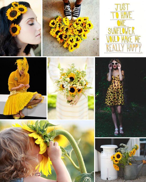 Mood Board Monday: Sunflowers (http://blog.hgtv.com/design/2014/03/10/mood-board-monday-sunflowers/?soc=pinterest)
