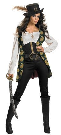 Deluxe Angelica Adult Costume - Pirates Of The Caribbean Costumes @ Costume Craze $40