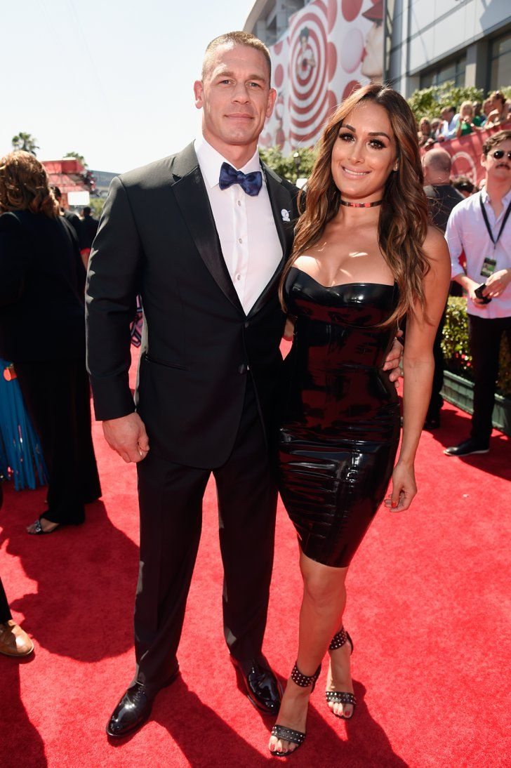 Pin for Later: Stars Show Love For Their Other Halves at the ESPY Awards John Cena and Nikki Bella