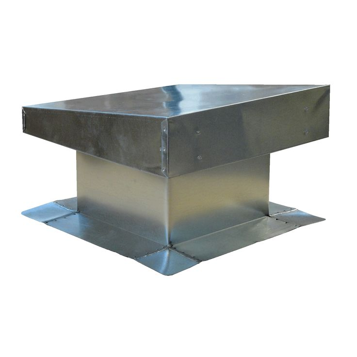 Bur flat top vent flat roof vents metal galvanized metal