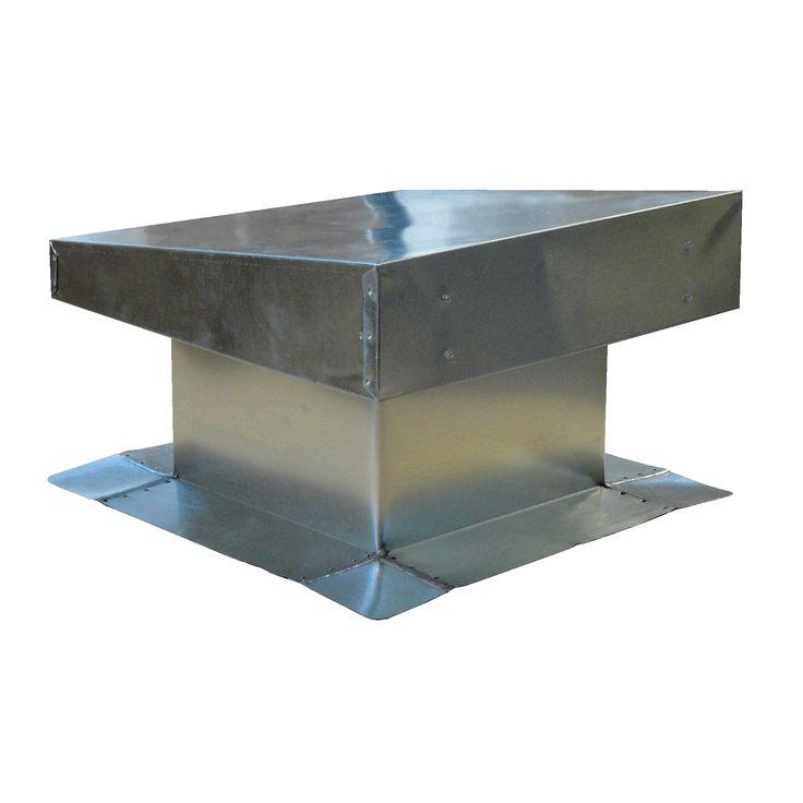 Menzies Metal Bur Flat Top Vent Resources Pinterest