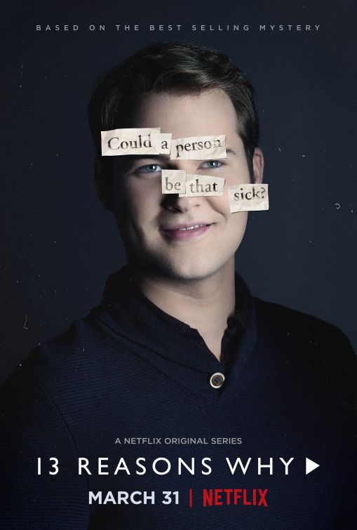 13 Reasons Why Netflix Poster Bryce