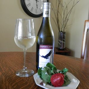 http://www.essexcountywineries.ca/wines/2013/20130630.htm June 30, 2013 - Cooper's Hawk Vineyards 2012 Chardonnay Musque with a light spinach mix salad including berries and walnuts. Made in Canada, Eh?! - See more at: http://www.essexcountywineries.ca/wines/2013/20130630.htm#sthash.GhoaIH2i.dpuf