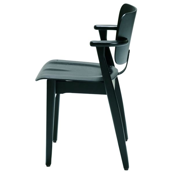 Domus chair, stained black