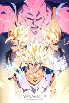 Super Vegito VS Super Buu by moxie2D · Anime 8DAnime Manga FanartAnime ShtuffAnime CartoonDbz ...