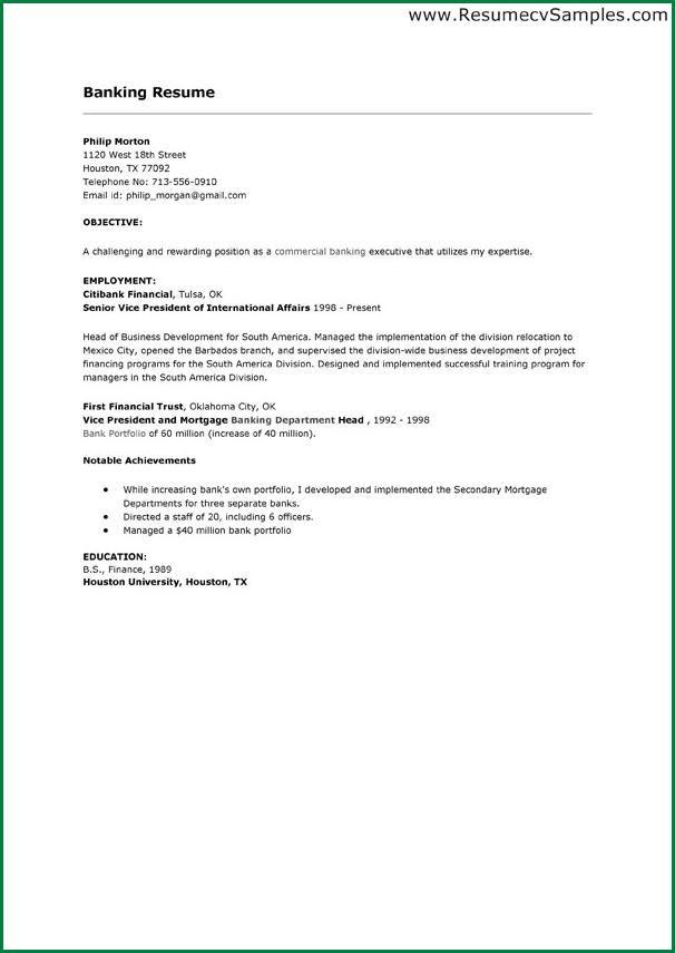 bank teller cover lettermple banking resume letter commercial - commercial banker resume
