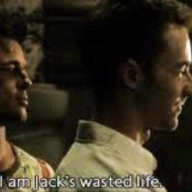 how does fight club represent an The first rule of fight club is you do not talk about fight club, barks tyler  durden (brad pitt) to his minions — men raised by women breaking.