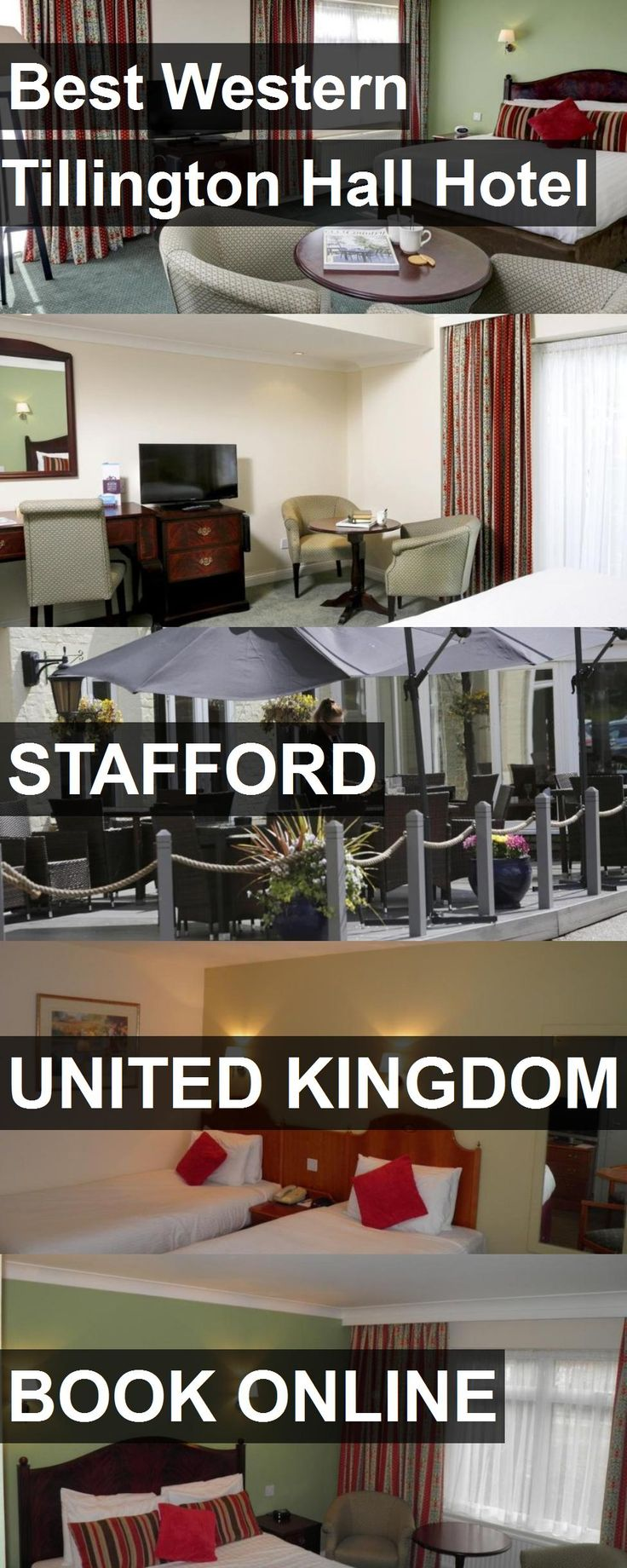 Best Western Tillington Hall Hotel in Stafford, United Kingdom. For more information, photos, reviews and best prices please follow the link. #UnitedKingdom #Stafford #travel #vacation #hotel