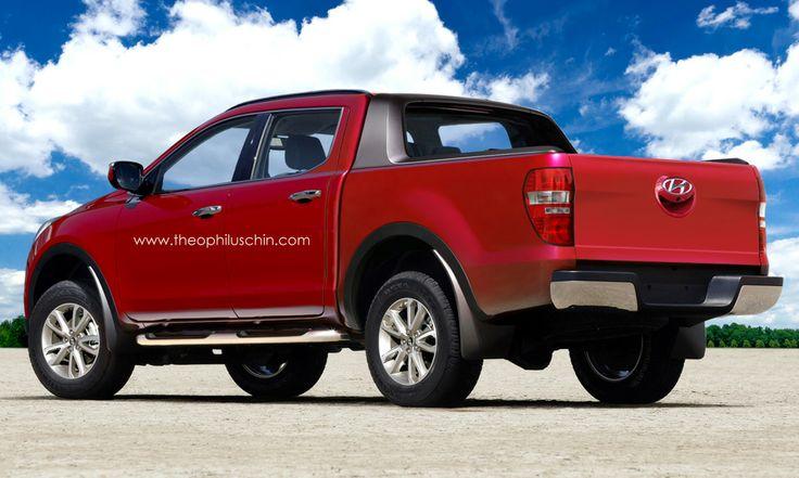 hyundai pick up truck autos post. Black Bedroom Furniture Sets. Home Design Ideas
