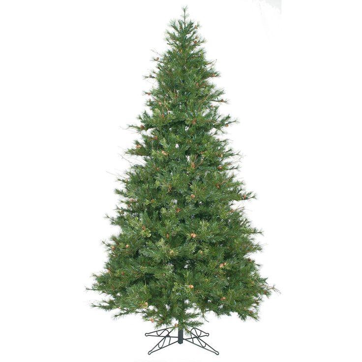 vickerman 9ft green tips christmas tree