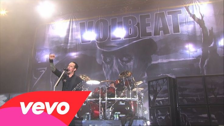 Volbeat - Lola Montez (Live From Rock am Ring/2013) I LOVE THIS SONG!! HIS VOICE IS AMAZING!!