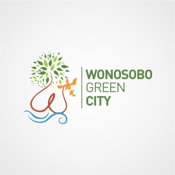 logo for Wonosobo Green City