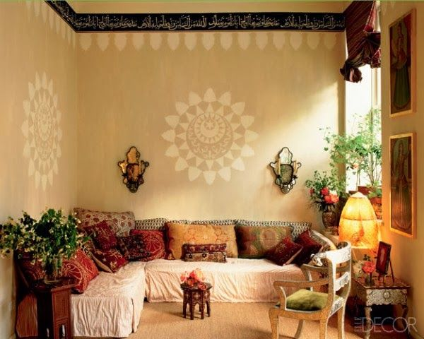 Moroccan Inspired Seating...