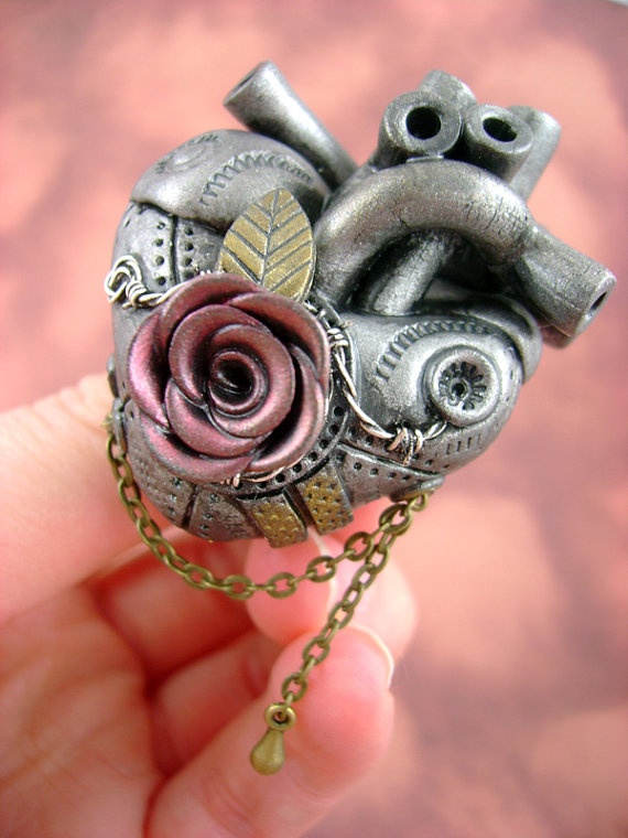 Barbed Rosette Anatomically Correct Industrial by monsterkookies, $55.00