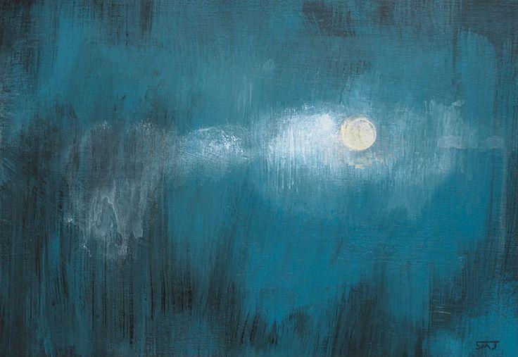 Cloudy Night by ShaunMichaelJones.deviantart.com on @DeviantArt