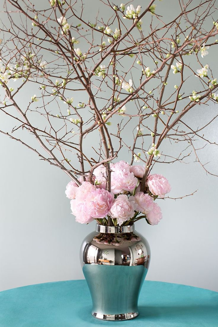 6 Branch Arrangements for Spring | Spring flower