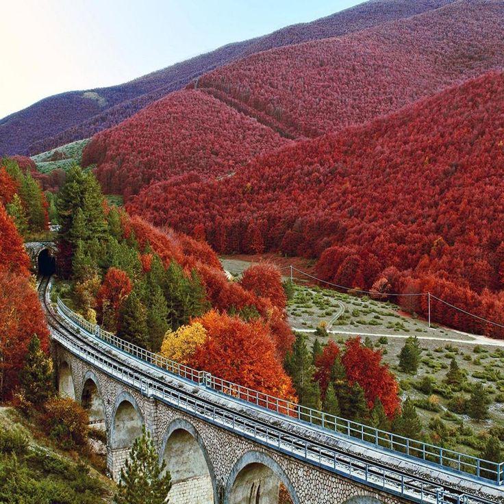 Autumn in Abruzzo.