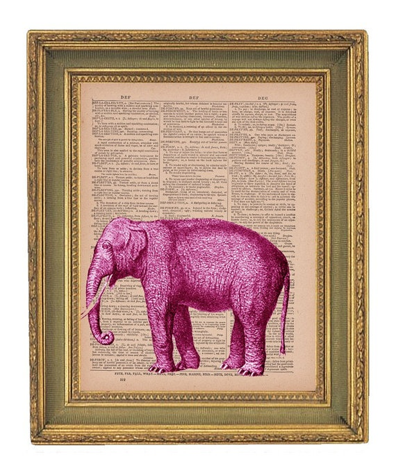 143 best pink elephants images on Pinterest | Pink elephant ...