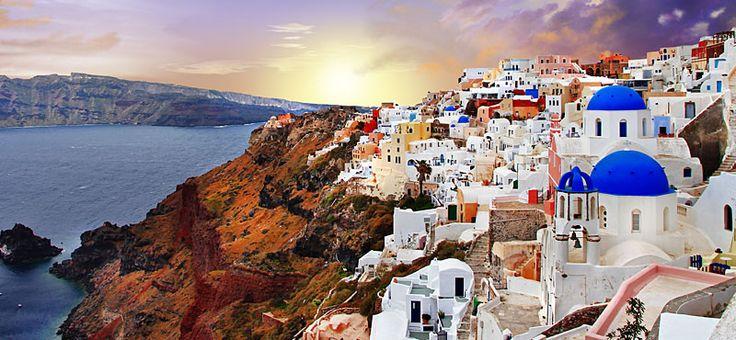 Santorini,la perla del Mediterraneo