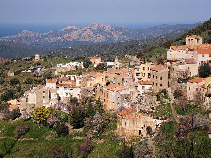 Corsica - A Balagna - La Balagne -  Novella est une commune située dans le département de la Haute-Corse.