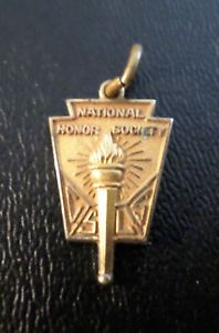 Vintage National Honor Society Csls Necklace Pendant