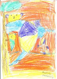 kids drawing house with garden - Google Search
