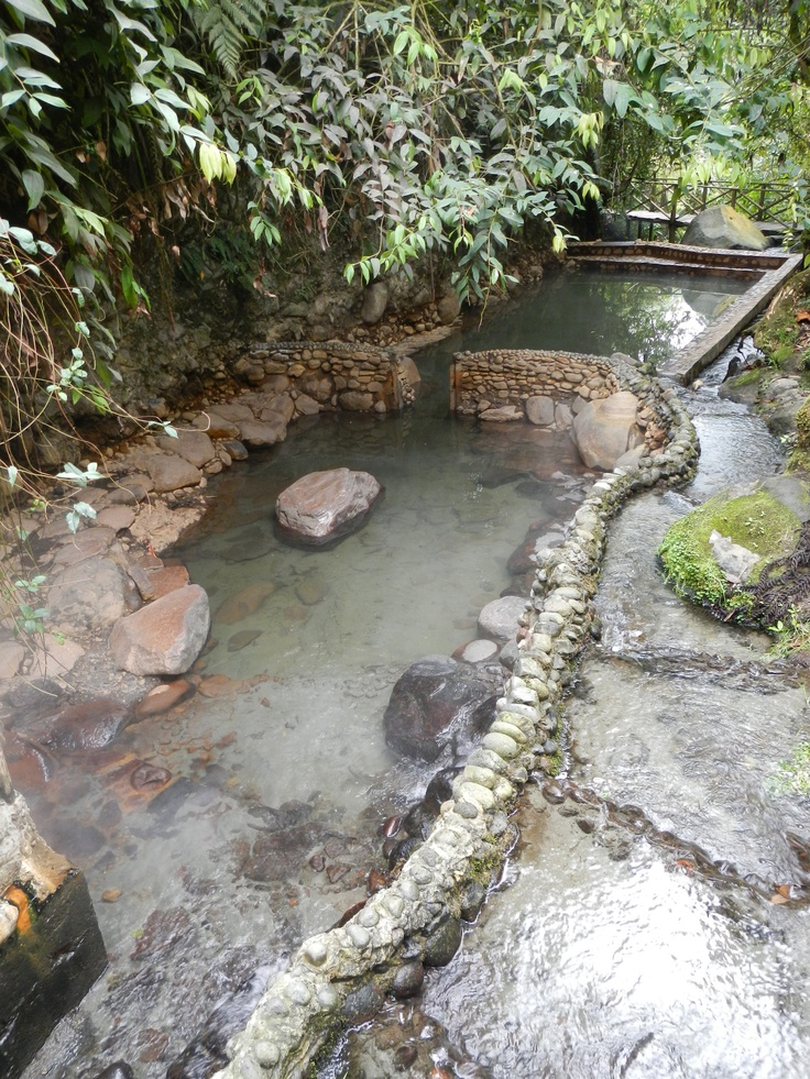 Santa Rosa de Cabal is the Thermal Baths capital of Colombia. Termales San Vicente is set amidst a cloud forest & thermal water rivers.