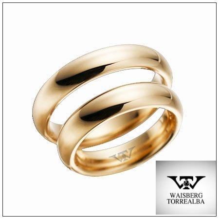 Clásicas argollas de matrimonio, en Oro amarillo 10 gr. Para un amor eterno #joyas #bodas
