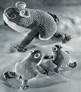 Crocheted Frogs Pattern | Crochet Patterns - free pattern