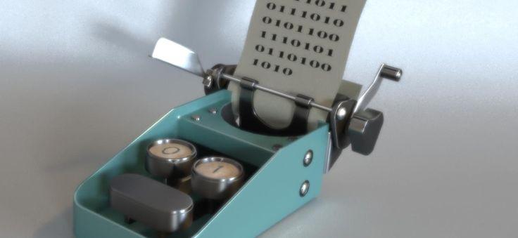Une machine (en 3D) pour les programmeurs en code binaire ^^