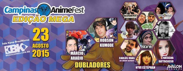 Sala Kpop BrazilKorea na Campinas Anime Fest