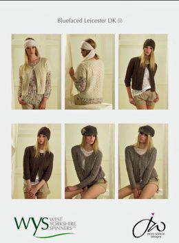 Cable and Lace Cardi & Hat