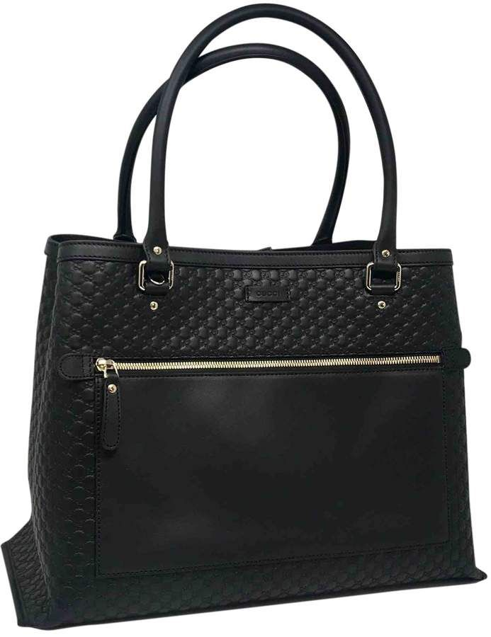 66c51e66c2a ShopStyle Collective | Bags in 2019 | Black leather handbags, Gucci ...