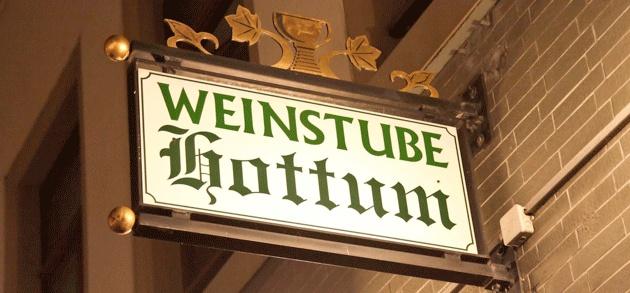 """Weinstube, traditionell Wine bar """"Hottum"""" Mainz, Germany"""