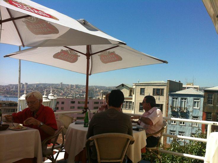 Cafe Restaurante Turri in Valparaíso, Valparaíso