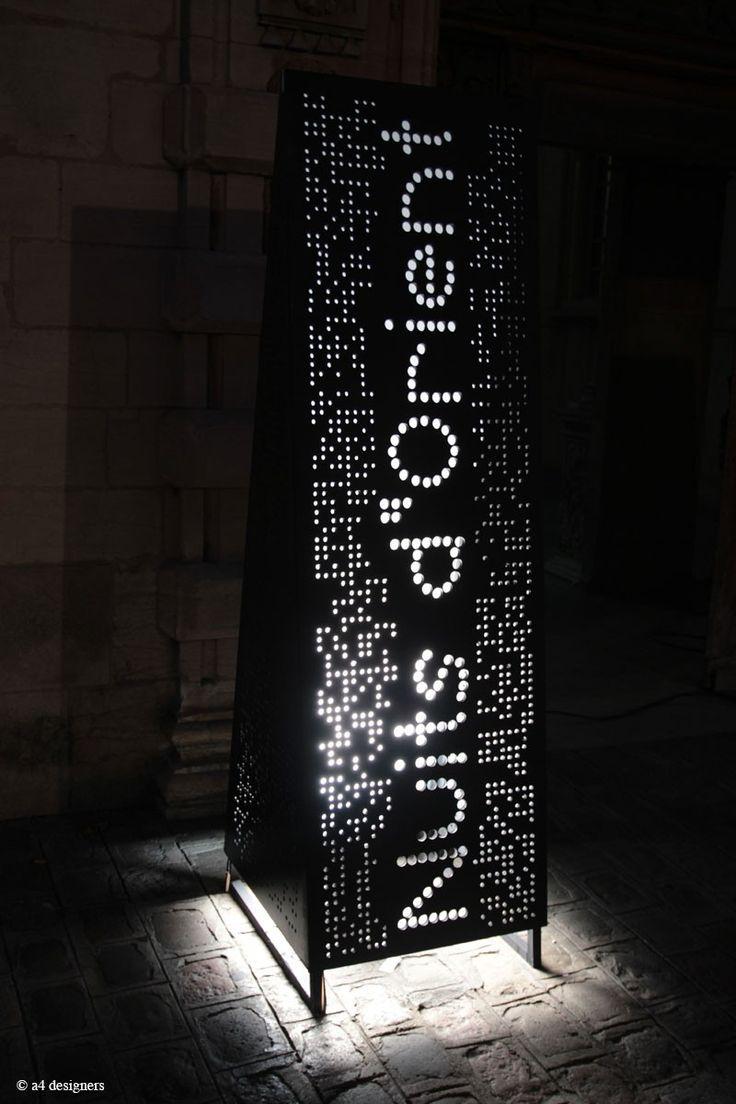 Points · A4 Designers · Signalétique du festival Nuits d'Orient / Hôtel de Vogüé / Dijon