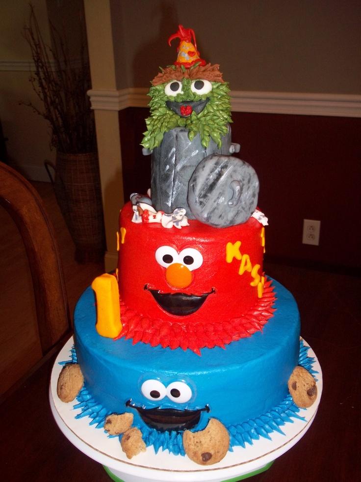 Pin Sesame Street Cakes At Walmart Cake On Pinterest