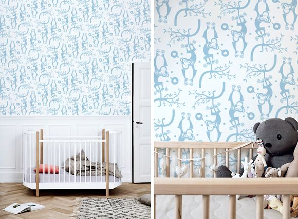 17 best images about vinilos infantiles papeles pintados - Papeles pintados para bebes ...