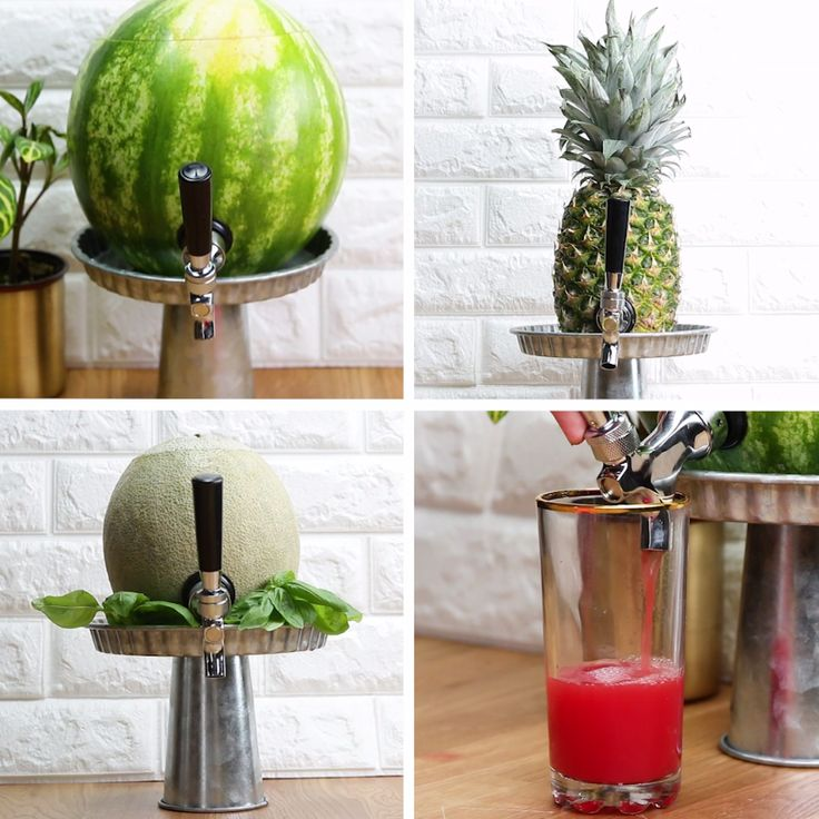 DIY Fruit Kegs
