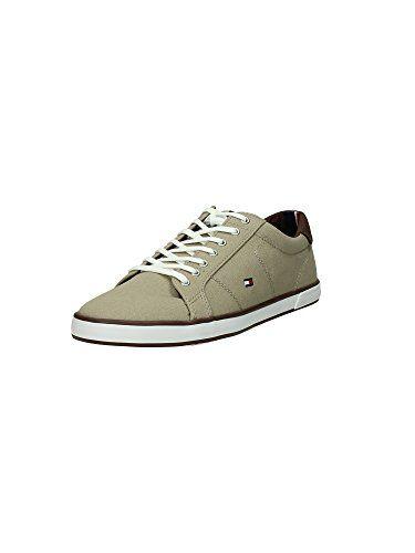 Tommy Hilfiger Fm56820892 Sneaker Herren Turteltaube, Größe 44 - http://besteckkaufen.com/tommy-hilfiger/44-eu-tommy-hilfiger-herren-h2285arlow-1d-9