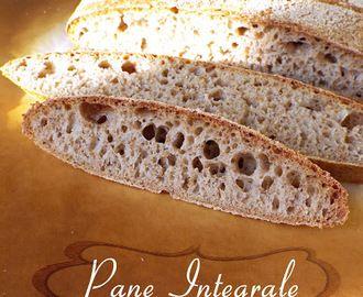 Pane integrale a lunga lievitazione naturale e cottura su pietra