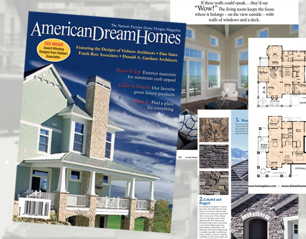 The fall 2012 issue of american dream homes magazine is for Dream homes magazine