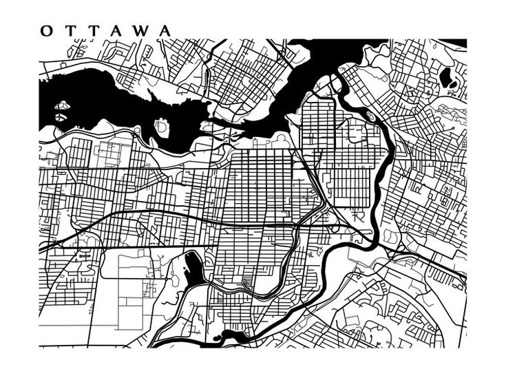 FREE STANDARD SHIPPING on all orders for a limited time! No coupon code required. Black and White Ottawa, Canada city map art print. See our colour Ottawa map here: https://www.etsy.com/ca/listing/163252966/ottawa-map-art-canada-wall-art-ontario See more Ontario maps here: