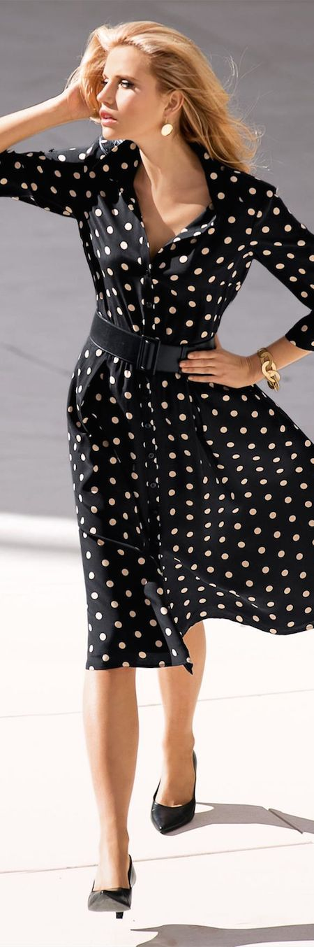 6 Beautiful Polka Dot Dresses,Polka dots are my favorite design