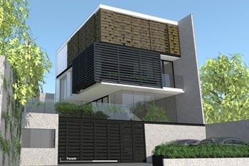 Title : Rumah Tusuk Sate Pondok Indah  Contest : Architecture Residential Design by : Ari wibowo